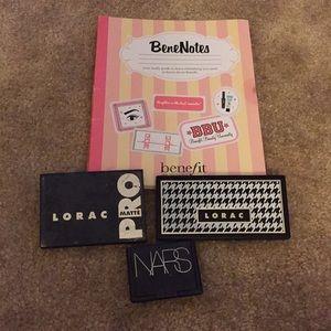 Lorac, NARS, and Benefit makeup and beauty bundle